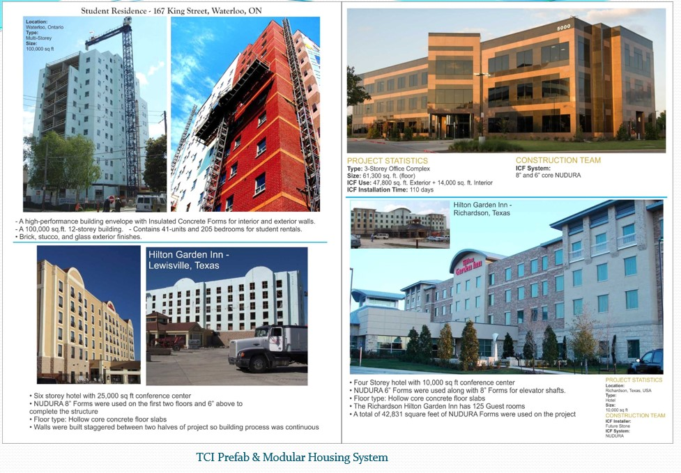 Some of the ICF Building 1 - Tci Building System